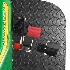 john deere golf course equipment 1200a bunker rakes throttle brake pedals