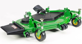 john deere 1550 terrain cut front mower sd mower deck