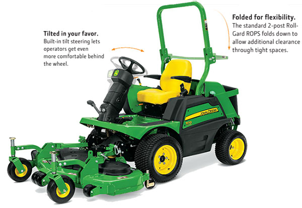 john deere golf equipment 1550 front mower top 2