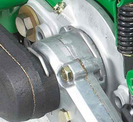john deere 2653b precision cut trim and surrounds mower power brush clip mounting system